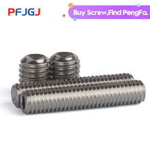 цена на Peng Fa 304 stainless steel concave end tightening screw M3 M4M5 M6 M8 M10