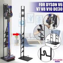 Aspirador de pó suporte de armazenamento vácuo organizador suporte de chão rack para dyson v6 v7 v8 v10 v11