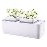 배터리 토양 재배 식물 모종 성장 키트 수경 재배 키트 심기 사이트 정원 식물 시스템 야채 도구 상자