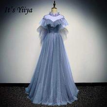 It's yiiya/вечернее платье блестящие элегантные платья для