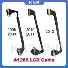 """الأصلي ل ماك بوك برو Unibody 15 """"A1286 LCD LVDS LED شاشة عرض كابل 2008 2009 2010 2011 2012 العام"""