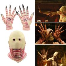 Halloween Eyeless Terror Props Mask Gloves Eagle Claw Devil Handwear Men Women Skull Ghost Claws Cosplay Accessories