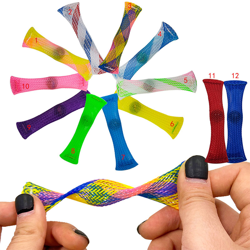 Fidget-Toys Strings Anti-Stress-Toy-Set Mesh Marble Relief-Gift Sensory-Stress Adults img3