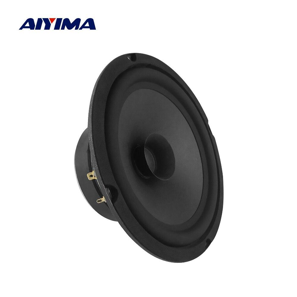 AIYIMA 1PCS 6,5 Inch Mitten Bass Lautsprecher 4 Ohm 160W Auto Musik Stereo Hifi Audio Woofer Lautsprecher DIY sound Auto System