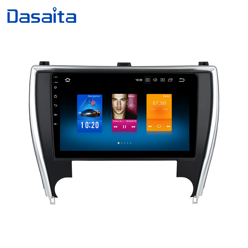 Dasaita Android 9 0 Car Multimedia Stereo for Toyota Camry US Version 2015 2016 2017 with