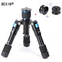 BEXIN travel camera smartphone holder phone Photography Small tripod Mini Tripod with ball head for Smart Phone dslr camera