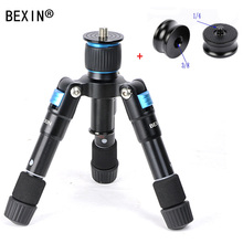 цена на BEXIN travel camera smartphone holder phone Photography Small tripod  Mini Tripod with ball head for Smart Phone dslr camera