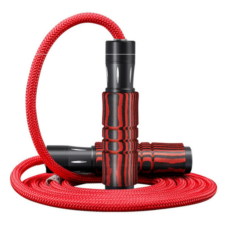 Braided Bearing Jump <font><b>Rope</b></font> Adjustable Sports Lose Weight Exercise Gym Fitness Speed <font><b>Skipping</b></font> <font><b>Rope</b></font> Anti Slip Alloy <font><b>Handle</b></font> image