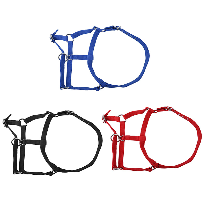 Double Layered Padded Horse Halter Practical Thicken Adjustable Strap Durable Protective Accessories