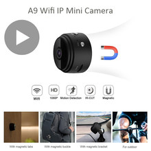 Minicámara pequeña secreta de visión nocturna, videocámara IP con Wifi, Sensor de movimiento, Full HD, 1080p, para bicicleta, DVR