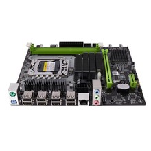 X58PRO2 LGA1356 Motherboard DDR3 1066/1333/1600/1866MHz ECC RAM USB2.0 SATA2.0 Para Xeon Server 1356(China)