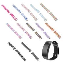 ANENG Fashion Sports Silicone Watchband Wrist Strap For Samsung Gear Fit 2 SM-R360 Pro samsung galaxy gear fit 2 sm r360 sm r3600zbaser blue