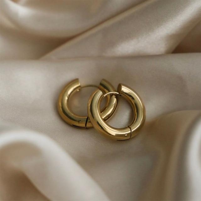 golden geometric earrings 6