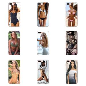 TPU Shell Covers For Samsung Galaxy A71 Note 10 Plus A51 Case A50 A 71 A 51 Sexy Lady Naked Sexy Bikini Girl