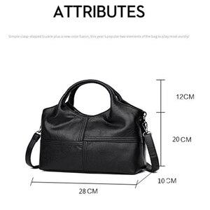 Image 4 - AUAU модные Лоскутные сумки через плечо, женские кожаные сумки, женские Сумки из искусственной кожи