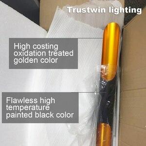 Image 4 - Replica delightfull coltrane loft moderno conduziu a lâmpada de suspensão luminária ouro preto asa alumínio tubo pendurado pingente lâmpada luz