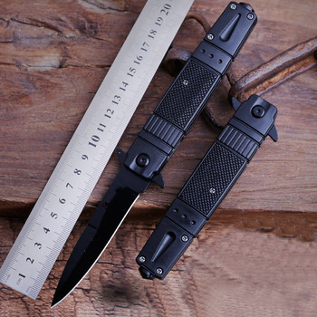 Folding Knife Outdoor Self-Defense Multi-Function Army Knife High Hardness Small Knife Mini Fruit Knife field Survival Knife stainless steel self defense folding knife hunting camping multifunctional high hardness military survival outdoor fruit knife
