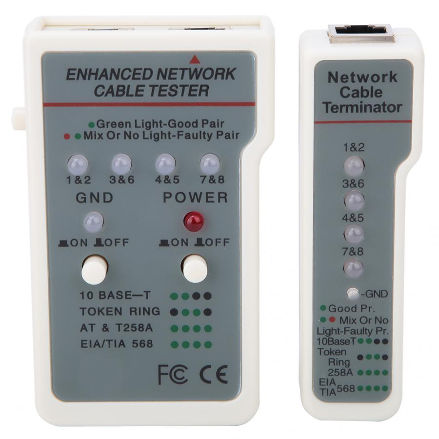 GL-1088B Multifunctional USB Network Cable Wire Tester Professional Ethernet LAN Network Tester Detector  Networking Tool