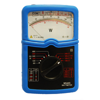 MS405 Teaching Laboratory Single Phase 3 Phase Power Meter AC/DC C.A 405 Analog Wattmeter Electronic Wattmeter Analog Watt Meter