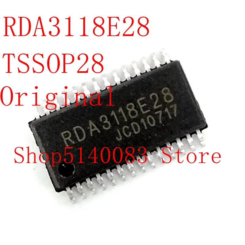 2PCS-10PCS  RDA3118E28 RDA3118 TSSOP-28  Original IC Chip