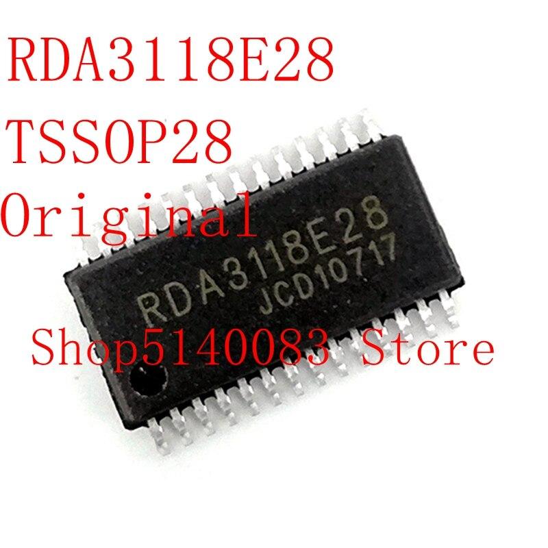 2PCS-10PCS  RDA3118E28 RDA3118 TSSOP-28  Original IC Chip
