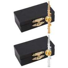Мини-флейта в форме музыкального инструмента Брошь булавка аксессуар для коллекции подарков