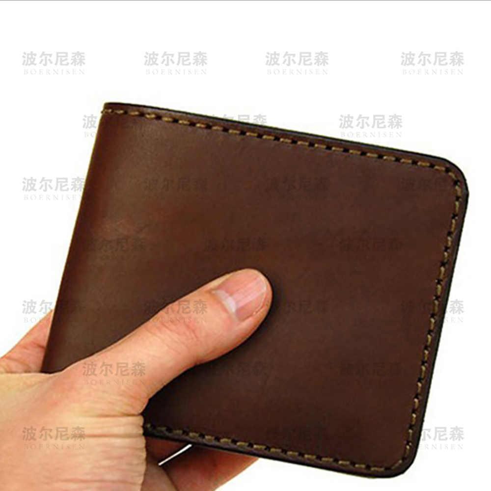 SMVAUON 2020 krótki składany portfel do cięcia die składany portfel torba ręczna tłoczenie stalowa torba na karty prosto die skóra die die cięcia
