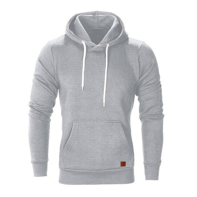 Mens Long Sleeve Autumn Winter Casual Sweatshirt Hoodies Top Blouse Tracksuits winter Hoodies Sweatshirt Hooded Jacket Coats
