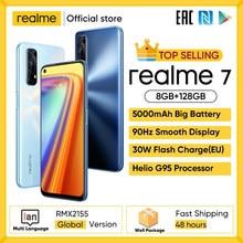 Realme 7 Global Versie Mobiele Telefoons Ontgrendeld 30W Snelle Lading Smartphone 8Gb Ram 128Gb Rom Mobiele Telefoons helio G95 Gaming Telefoon