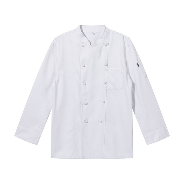 The Chef Uniform Long Sleeve Qiu Dong Outfit Hotel Catering Kitchen Chef Uniform Bakery Equipment After Men And Women  5