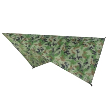 Ultralight Tarp Outdoor Camping Survival Sun Shelter Shade Awning Silver Coating Pergola Waterproof Beach Tent-Camouflage 3f ul gear 4x3m silver coating flysheet waterproof sunscreen 210t taffeta hanging tarp tent beach canopy