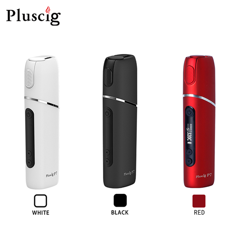 Pluscig P7 Charged Electronic Cigarette Vape Box Up To 38-45 Continuous Smokable Compatibility With Heating Tobacco Stick