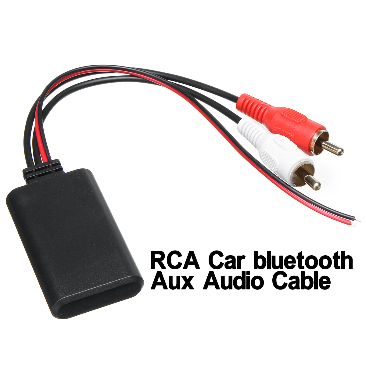 bluetooth Connection Adapter for Stereo with 2RCA AUX IN Input Wireless Cable