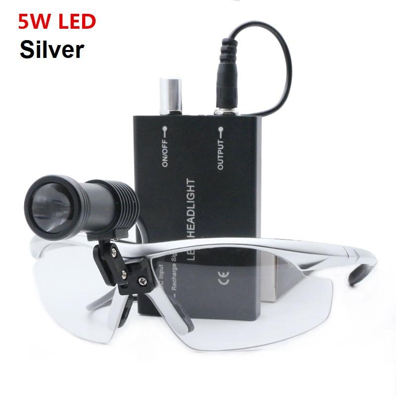 Best Seller Medical Headlight 3/5W LED Medical Head Light Dental Surgical Medical Headlight