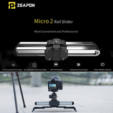 Zeapon Micro Mini 2 Thanh Trượt Đôi Du Lịch Đường Đường Trượt Dolly Đường Sắt Cho Iphone X Điện Thoại Thông Minh Máy DSLR//Arri Mini/Đỏ/Bmcc