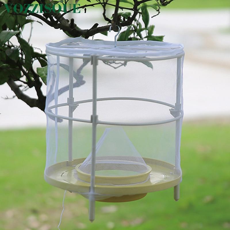 Pest-Control Trap Cage-Net Catcher Killer Fruit Flies Garden Reusable Hanging Health