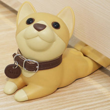Cute Dog Door Stops Cartoon Creative Silicone Door Stopper Holder Safety Toys For Children Baby Home Furniture Hardware(China)