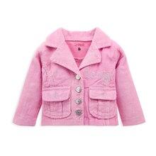 Coat Jackets Baby-Girl Outwear Newborn Boy Warm Pink Top Casaco-De-Inverno Menina Long-Sleeve