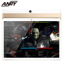 ANRY 4G LTE 10.1 Inch Android Tablet Big Battery 4GB RAM 64GB ROM Touch Screen Slim Metal Cover Dual SIM Card 1280x800 IPS cube iwork12 12 2 inch win10 android 5 1 4gb 64gb tablet silver