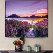 Постер скандинавский пейзаж настенная Картина на холсте и принты