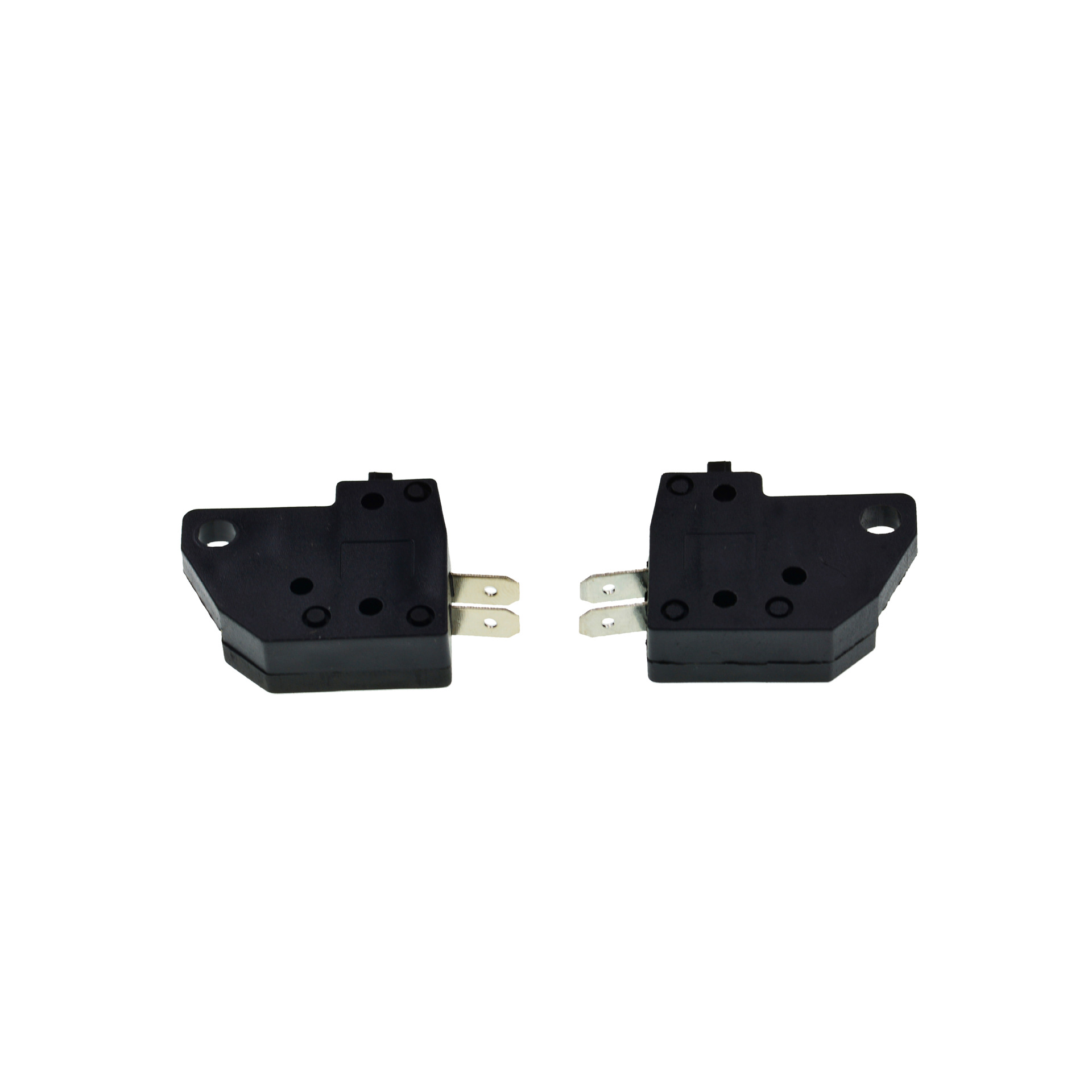 1 Pair Left Right Side Brake Light Switch Motorcycle Cylinder Level Mount Scooter ATV Moped Hydraulic Brake Handle Button