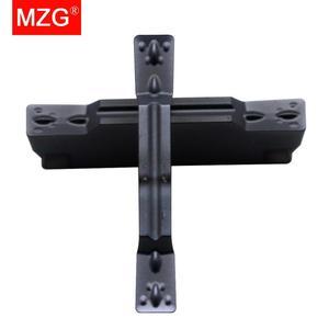 Image 4 - MZG MGMN200 M ZP30 CNC Bearbeitung Harten Stahl Einstechen Cut Off Verarbeitung Wendeschneidplatten