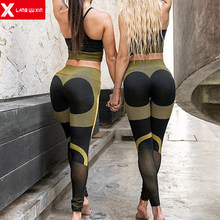 2020 Neue frauen Fitness Outfits Leggings Sport-Bh Yoga Set Lange Hosen Trainingsanzüge Ärmellose Tops Active Workout Kleidung(China)