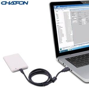 Image 3 - CHAFON uhf desktop usb uhf rfid reader writer ISO18000 6B/6C for access control system free uhf sample card, SDK demo software