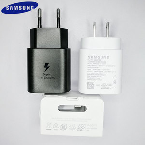 Image 1 - サムスン注 10 EU/米国スーパー急速充電器 PD PSS 25 ワット超高速充電電源アダプタタイプ  c ケーブルギャラクシー注 10 プラス K20 1080p