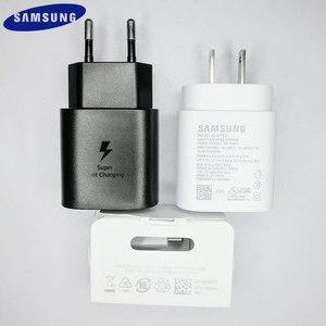 Image 1 - Samsung Nota 10 Eu/Us Super Veloce Caricatore Pd Pss 25 W Super Veloce di Ricarica Adattatore di Alimentazione Tipo di  C Cavo per Galaxy Note 10 Più K20 P