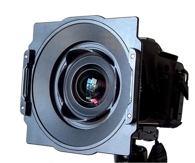 アルミ 150 ミリメートルスクエアフィルターホルダー用 Samyang 14 ミリメートル 2.8 レンズ用互換リーハイテック Haida 150 シリーズフィルター