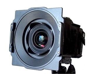 Image 1 - Alüminyum 150mm kare filtre tutucu braketi destek Samyang 14mm 2.8 Lens uyumlu Lee Hitech Haida 150 serisi filtre