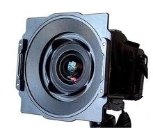 Soporte de aluminio para filtro cuadrado de 150mm, soporte para lente Samyang de 14mm 2,8 Compatible con filtro de la serie Lee Hitech Haida 150