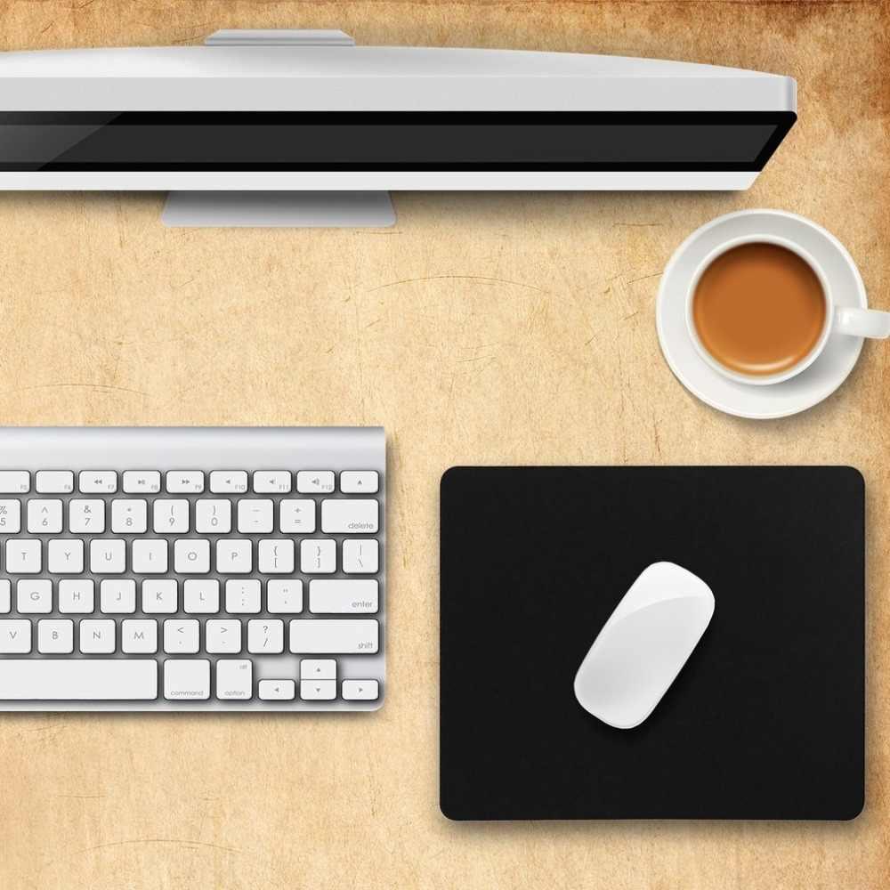 Alfombrilla de ratón Universal de 22*18 cm, alfombrilla de goma antideslizante para tableta de ordenador portátil alfombrilla de ratón óptico para PC